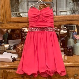 Pink Homecoming/ Party Dress